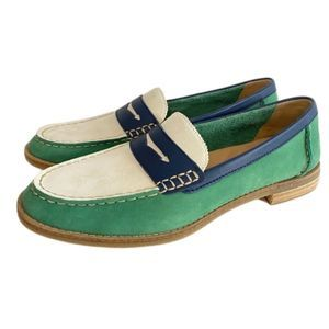 Sperry Sea Port Tri Tone Penny Loafer STS83738